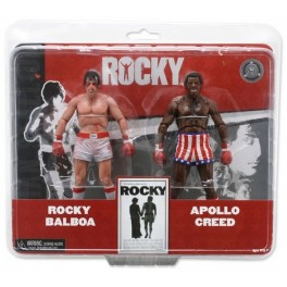 Figura Rocky vs. Apollo Pack Exclusive 18 cm Neca