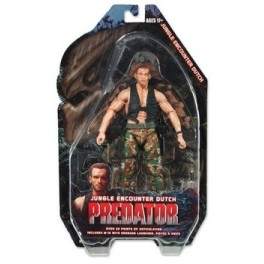 Figura Jungle Encounter Dutch Predators Serie 9 Action figure 25th Anniversary 18 cm Neca