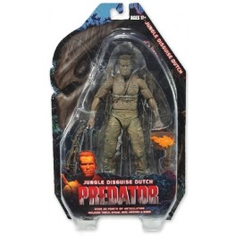 Figura Jungle Disguise Dutch Predators Serie 9 Action figure 25th Anniversary 18 cm Neca