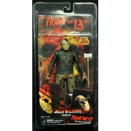 Figura Jason Voorhees Battle Damaged Friday 13th Parte IV Action figure 18 cm Neca