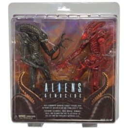 Figura Aliens Genocide Aliens Action figure Pack (2) 23cms Neca