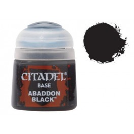Citadel Base Abaddon Black - Equivale a Chaos Black gama antigua