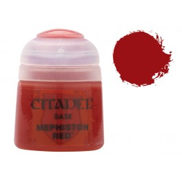 Citadel Base Mephiston red - equivale a Mechrite Red gama antigua