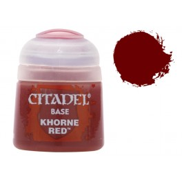 Citadel Base Khorne Red - Equivale a Scab Red gama antigua