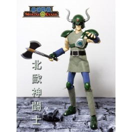 Figura  Saint Seiya Asgardian Warrior Mortal Clash