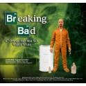 Figura Breaking Bad  Deluxe Walter White in Orange Hazmat Suit heo Exclusive 15 cm Mezco Toys