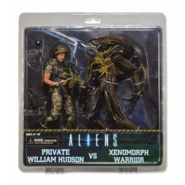 Figura Hudson vs. Battle Damaged Brown Warrior Aliens Pack Action figure Exclusive 21 cm Neca