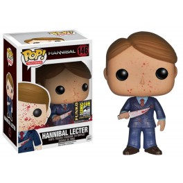 Figura Hannibal POP! Vinyl Bloody Hannibal Lecter SDCC Exclusive 9.5 cm Funko