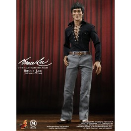 Figura Bruce Lee Casual Wear Collectible Action figure 30 cm MIS12 Hot Toys