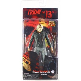 Figura Jason Voorhees Damaged Friday 13th Parte III Action figure 18 cm Neca