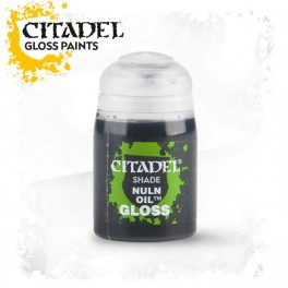 Citadel Shade Nuln Oil - Equivale a Badab Black gama antigua