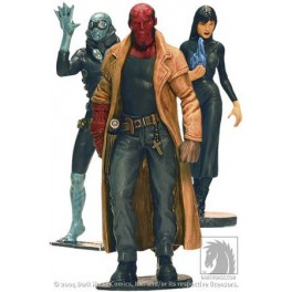 Figura Liz Sherman and Abe Sapien Hellboy Pack de 3 Figuras PVC The Good Guys 10 cm Dark Horse