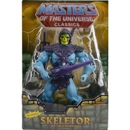Figura Skeletor Masters of the Universe Motu Classics 17 cm Mattel