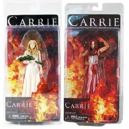 Figura Carrie White (Prom Version) + Carrie White (Bloody Version) Carrie (2013) Action figure 17 cm Neca