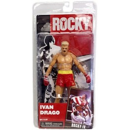 Figura Ivan Drago Damage Rocky IV Serie 2 Action figure 18 cm Neca