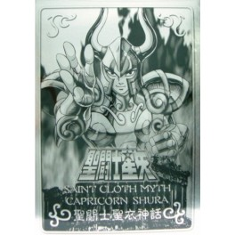 Metal Plate Myth Cloth Capricornio