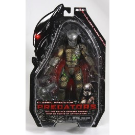 Figura Classic Predator Battle Damaged Predators Serie 2 Action figure 18 cm Neca