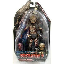 Figura City Hunter Predator Mask Predator 2 Serie 7 Action figure 18 cm Neca