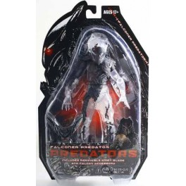 Figura Predators Serie 7 Falconer Predator With Bird 18 cm Neca