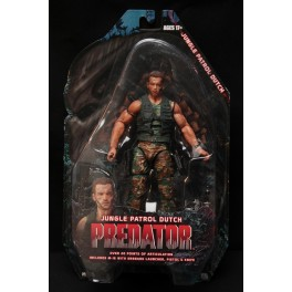 Figura Jungle Patrol Dutch Predator Serie 8 Action figure 25th Anniversary 18 cm Neca