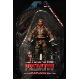 Figura Jungle Extraction Dutch Predator Serie 8 Action figure 25th Anniversary 18 cm Neca