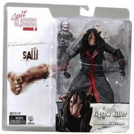 Figura Jigsaw Killer Mask Saw Cult Classics Serie 5 Action figure 18 cm Neca