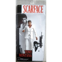 Figura Tony Montana White Suit Scarface Serie 1 Action figure 18 cm Neca