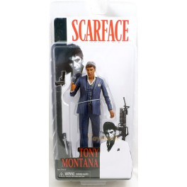 Figura Tony Montana Black Suit Scarface Serie 1 Action figure 18 cm Neca
