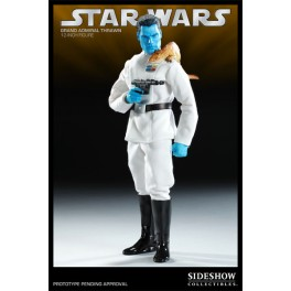 Figura Grand Admiral Star Wars Action figure Deluxe-Box 30 cm Sideshow Collectibles