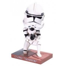Figura Clone Trooper Star Wars Head Knocker 20 cm Neca