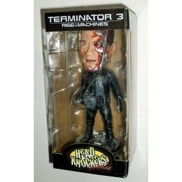 Figura T-850 Damaged Terminator 3 Head Knocker 20 cm Neca