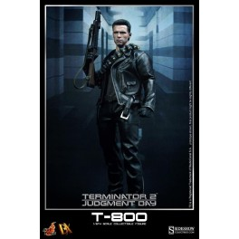 Figura T-800 Terminator 2 Judgement Day Collectible Figure 1/6 32 cm MMS DX10 Hot Toys