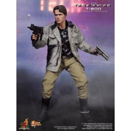 Figura T-800 T1 Terminator Collectible Action figure 30 cm Hot Toys MMS136