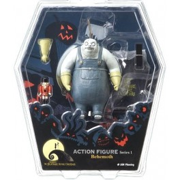 Figura Behemoth pesadilla  antes de Navidad Serie 1 Action figure 18 cm Jun Planning