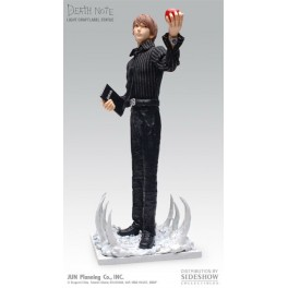 Figura Light Yagami Kira Death Note Craft Label Estatua PVC 30 cm Jun Planning