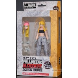 Figura Winry Rockbell Fullmetal Alchemist Action figure Play Arts 16cms Square-Enix