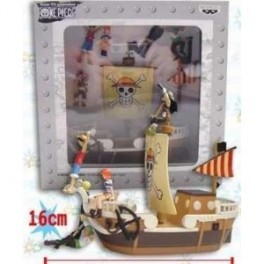 Figura Going Merry One Piece Barco con personajes 16 x 15 cm Banpresto