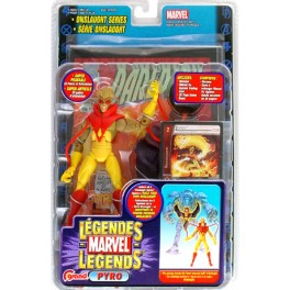 Figura Pyro Marvel Legends Action figure 16 cm