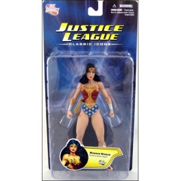 Figura Wonder Woman JLA Classic Icons Serie 1 Action figure 18 cm DC Direct