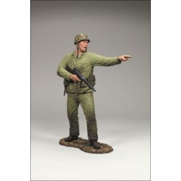 Figura Marine Corps mit Maschinengewehr Call of Duty World at War Action figure Serie 1 18 cm Mcfarlane