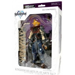 Figura Cloud Strife Kingdom Hearts Play Arts Volume 2 Action figure Umkarton 22 cm Square-Enix