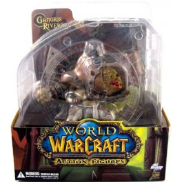 Figura Gnoll Warlord Gangris Riverpaw World of Warcraft Serie 1 Premium Action figure 22 cm DC Unlimited
