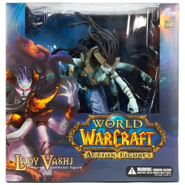 Figura Lady Vashj World of Warcraft Series 4 Deluxe Collector Action figure 33 cm DC Unlimited