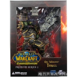 Figura Warchief Thrall World of Warcraft Serie 2 Premium Action figure 22 cm DC Unlimited