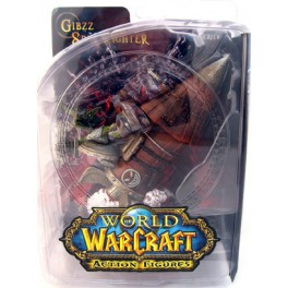 Figura Goblin Tinker Gibzz Sparklighter World of Warcraft Serie 6 Action figure 18 cm DC Unlimited