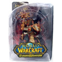 Figura Human Paladin Judge Malthred World of Warcraft Serie 7 Action figure 18 cm DC Unlimited