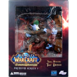 Figura Troll Hunter Taz´dingo World of Warcraft Premium Serie 3 Action figure 20 cm DC Unlimited