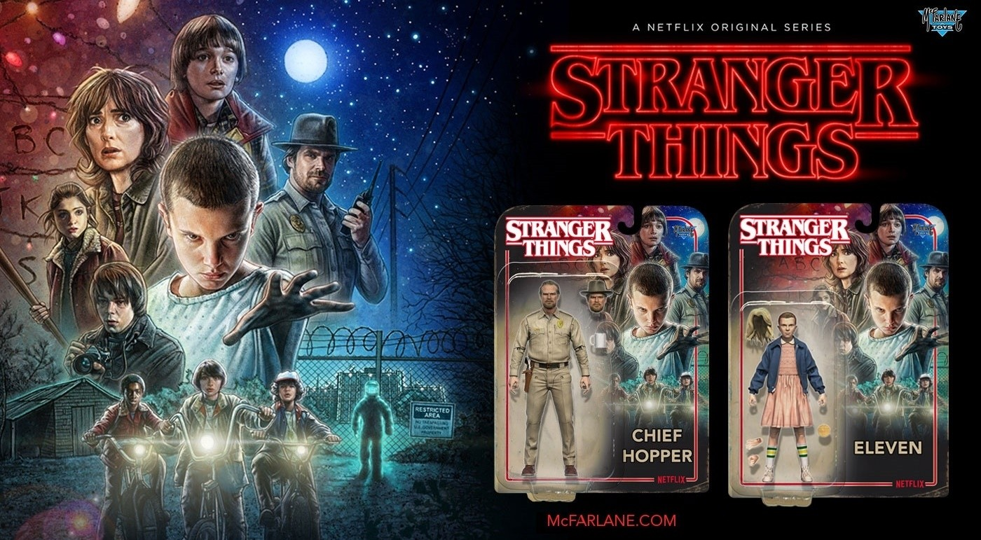 Stranger Things Mcfarlane Toys