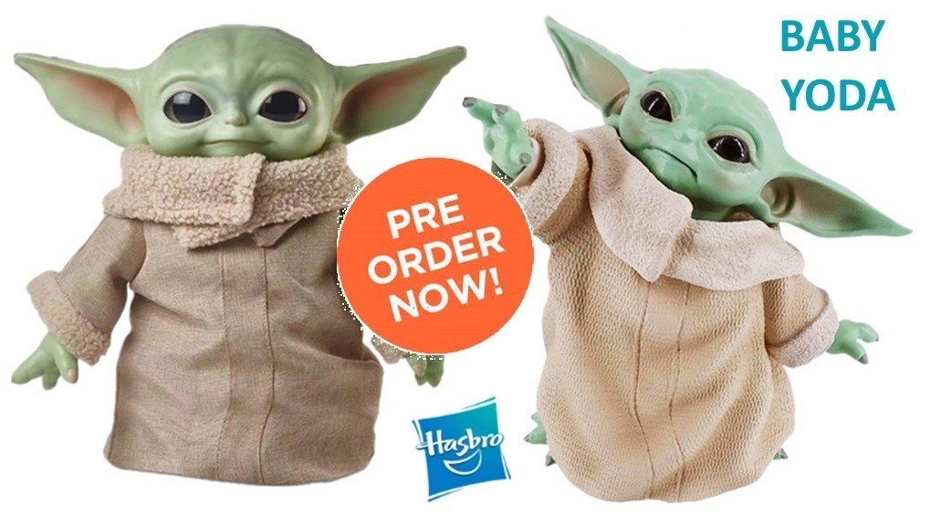 Peluche Baby Yoda - Star Wars Episode VIII