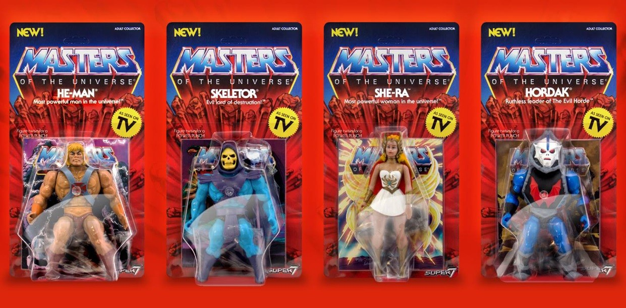 Figura Masters of the Universe Super 7